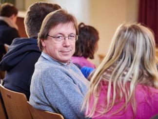 Herr Käthner als Jurymitglied.