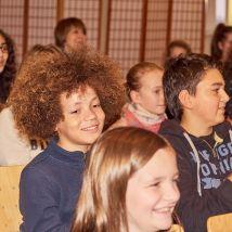 Gute Stimmung im Publikum