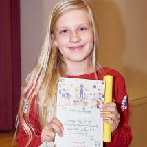 Die sechsten Klassen haben ihre beste Vorleserin gefunden: Emlyn!